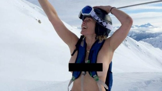 Chelsea Handler May Be Showing Off Her Boobs All The Time Because She Allegedly Had A Breast Lift