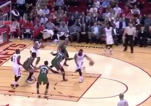 Video: James Harden Fakes Shot And Behind-Back Pass En Route To Layup
