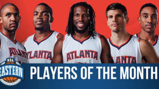 Hawks' Starting Five, James Harden Named Players Of Month For January