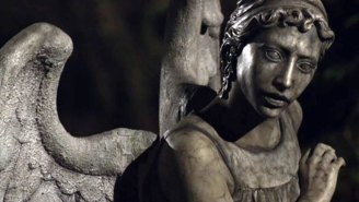 Headcanon accepted: That time a 'Doctor Who' weeping angel fell in love