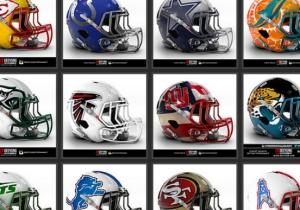 A Graphic Designer Wants The NFL To Go Big With These Concept Helmet Designs