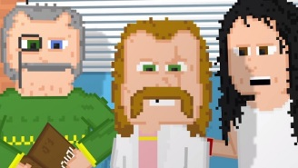 Check Out This Trailer For A Full-Length 8-Bit Movie About Washed-Up Rock Stars
