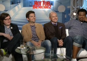 The 'Hot Tub 2' cast thinks the most underrated comedian is… John Mayer?