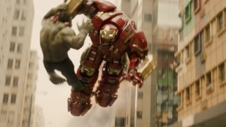 Headcanon accepted: Iron Man and Hulk aren't fighting in the 'Age of Ultron'