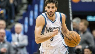 Video: Lucky Genius Ricky Rubio Saves Ball With Pinpoint Behind-Back Pass For Layup
