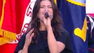 Idina Menzel's National Anthem Performance: Wicked?