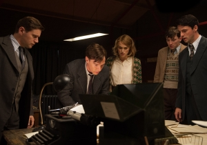 'Imitation Game' producers on the rigors of the Oscar circuit and 'Harvey Scissorhands'