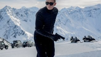 First Look: Daniel Craig returns as James Bond in 'SPECTRE'