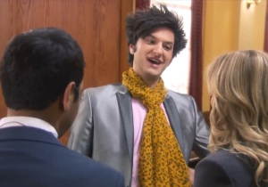 Jean-Ralphio Says Goodbye To Leslie In This 'Parks And Recreation' Finale Clip