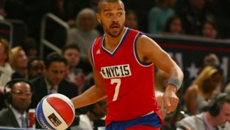 Jesse Williams Of 'Grey's Anatomy' Suffered A Grotesque Looking Injury In The Celebrity All-Star Game