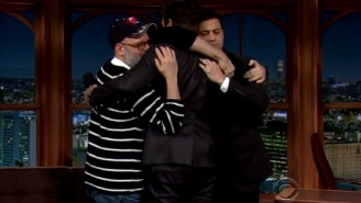 Jimmy Kimmel Made Will Arnett Cry On 'The Late Late Show'