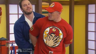 Here's 'Martial Arts Superstar' John Cena Getting Arrested By Johnny Karate On 'Parks And Recreation'