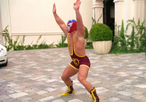 Here's John Cena Wearing Wrestling Gear For The First Time In A Decade And It Getting Him Laid