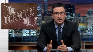 'Last Week Tonight With John Oliver' Took On Big Tobacco: The 'Open Sores On Satan's Dick'