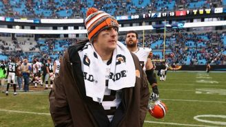 Johnny Manziel Reportedly Introduces A Heckler To A Flying Water Bottle