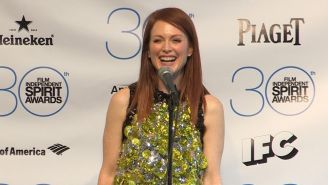 Julianne Moore on her Indie Spirit win and last-minute Oscar hopes