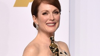 Julianne Moore wins the award for Most Overjoyed Oscar Winner