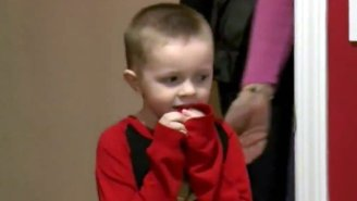 Watch A Six-Year-Old Cancer Survivor Get Surprised With A Superhero Bedroom