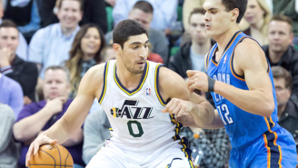 Reports: Thunder Talking With Jazz About Deal For Enes Kanter