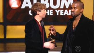 Kanye Pulled An 'Imma Let You Finish' Fake Out When Beck Beat Out Beyoncé For Album Of The Year