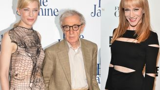 Kathy Griffin Claimed Cate Blanchett Will 'Have To Pay' For Being A 'Woody Allen Apologist'