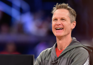 """Steve Kerr's All-Star Strategy: """"One Of You Guys Get It, And Like Throw It To One Of The Other Guys, Then You Shoot'"""