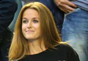 Andy Murray's Fiancee Kim Sears Wore The Perfect Shirt To Reference Her Potty Mouth At The Australian Open