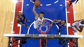 Watch Philly's K.J. McDaniels Get Creative With Punishing Self Alley-Oop