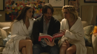 Review: Keanu Reeves plays a dangerous sex game in Eli Roth's 'Knock Knock'