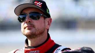 NASCAR Driver Kurt Busch Allegedly Smashed His Girlfriend's Head Into The Side Of His Motor Home