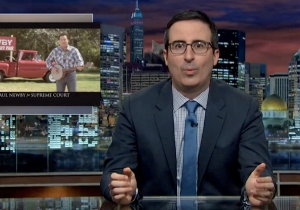 John Oliver Expertly Pointed Out The Idiocy Of America's Elected Judiciary System