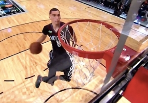 Video: Zach LaVine's Second Contest Slam Might Have Topped His World-Ending First Effort