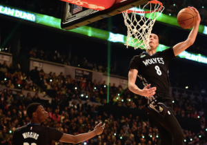 Zach LaVine On Dunk That Nearly Made Andrew Wiggins Faint: 'I Didn't Do That One'