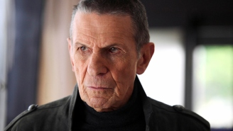 And don't forget 'Fringe' in your Leonard Nimoy tributes