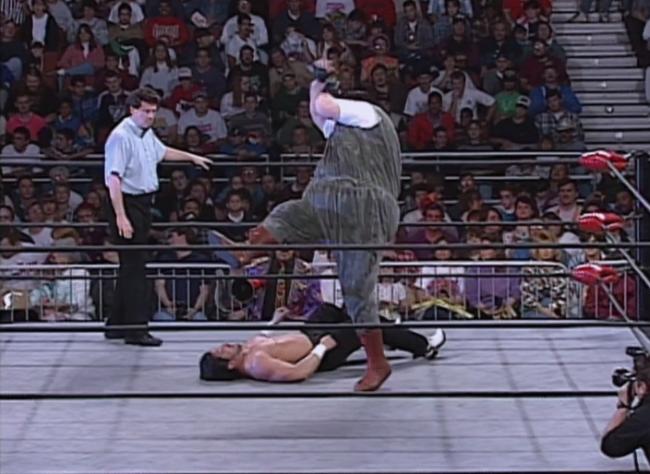 Loch Ness Scotty Riggs WCW Nitro