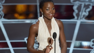 Lupita Nyong'o's $150,000 Pearl-Covered Oscar Dress Was Stolen From Her Hotel Room