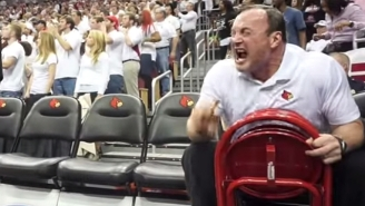 Watch The Most Intense Coach In College Hoops Go Crazy On The Bench