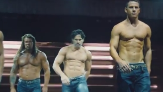 Channing Tatum Shows Off Some 'Magic Mike' Moves At Caesars Palace