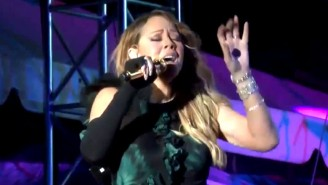 Here's Mariah Carey Allegedly Lip Syncing During A Concert In Jamaica