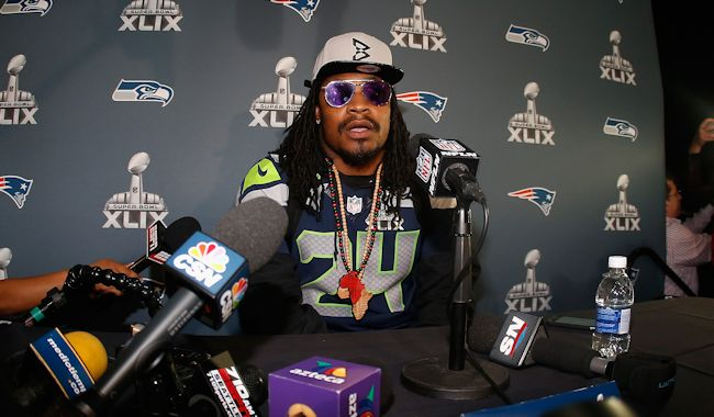 marshawn lynch media