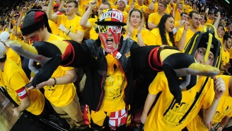 Watch Maryland Students Pull Off A Magnificent Flash Mob During Tuesday Night's Win Over Wisconsin