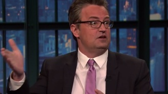 A Horrible Alien Baggage Handling Show Nearly Cost Matthew Perry His Role On 'Friends'