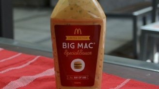 McDonald's Is Selling 200 Bottles Of Big Mac Special Sauce On eBay For Charity