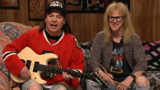 'SNL40': 'Wayne's World' parties on with an emotional Top 10 list