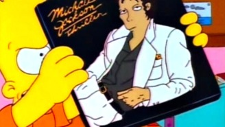 'The Simpsons' Briefly Revisited Their Michael Jackson Episode Last Night