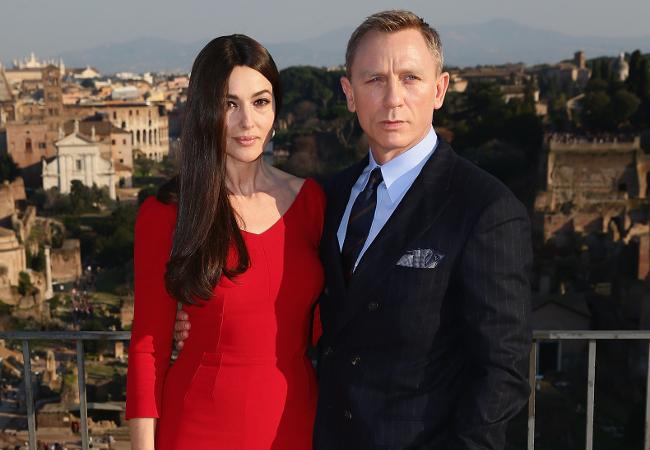 Monica Bellucci and Daniel Craig