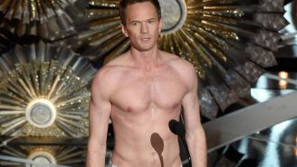 Neil Patrick Harris admits his 'Birdman' underwear had a secret