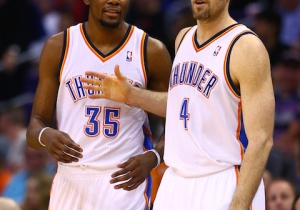 Kevin Durant Rips Reporter Who Questioned Nick Collison's Extension
