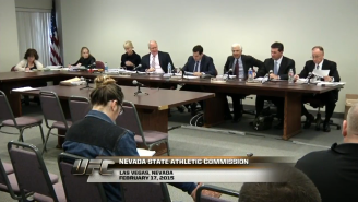 This Nevada State Athletic Commission Hearing Was Insane