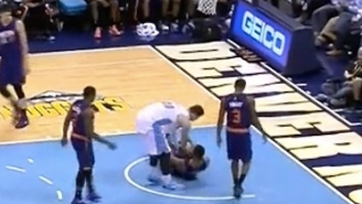 """Denver Rookie Jusuf Nurkic Emasculates Markieff Morris With """"Gift"""" After Beasting In Post"""